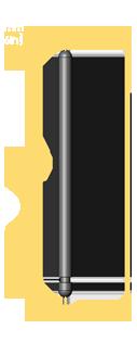 American Standard Long Balance Rail Pin