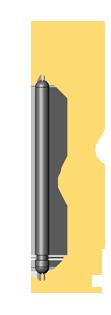 Old Steinway Short Balance Rail Pin