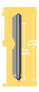 Old Steinway Long Balance Rail Pin