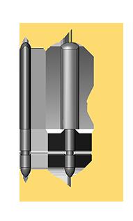 European Standard Front Rail Pin