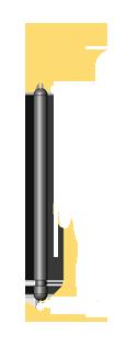 American Standard Short Balance Rail Pin