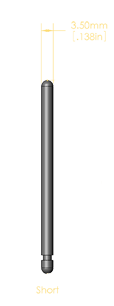 European Standard Short Balance Rail Pin