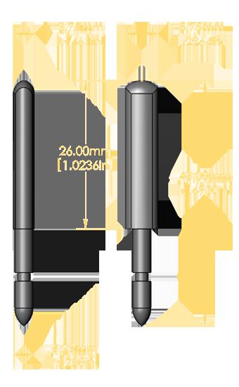 Front Rail Pin Set (American Std Long)
