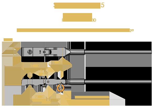 Steinway Type 5 Shank & Flange Set, Flex 1