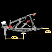 Mason & Hamlin Repetition Set for Tubular Rail (heels attached)