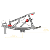 Mason & Hamlin Repetition Set for Tubular Rail (heels not attached)
