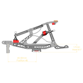 Baldwin Clemson Repetition Set (heels attached)