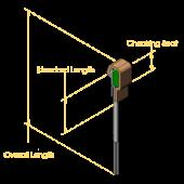 Standard Backchecks (for angled holes)