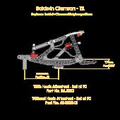 Baldwin Clemson Repetition Set T2 (heels attached)