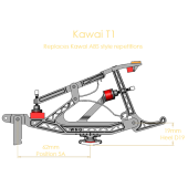 Kawai T1 Repetition Set (heels not attached)