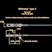 Steinway Type 2 Shank & Flange Set,